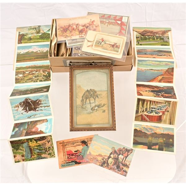 Antique Western Postcard Collection