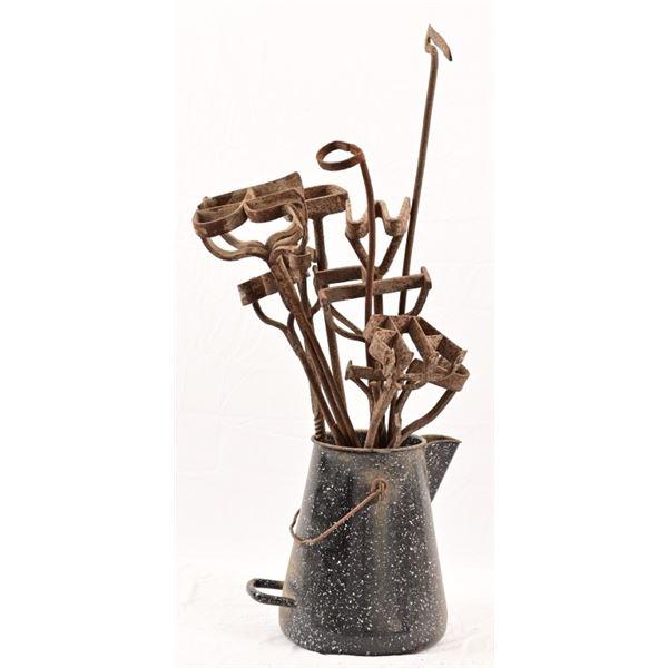 Antique Branding Iron Collection (11)