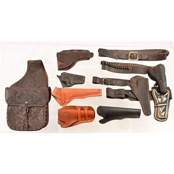 Collection of Holsters & Gunbelts