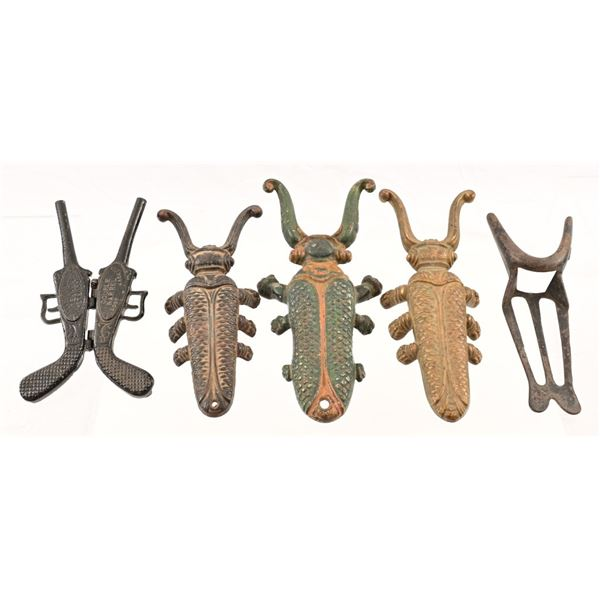 Collection of Cast Iron Boot Jacks