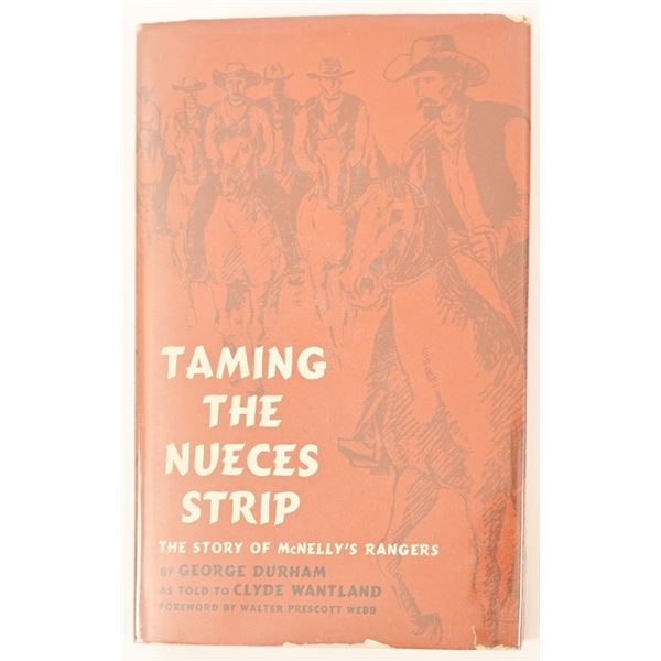"""""""Taming The Nueces Strip"""" by George Durham"""