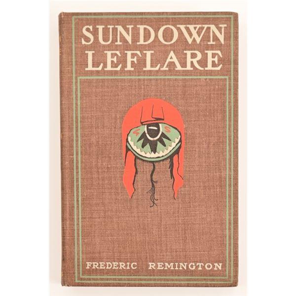 """Sunflower Leflare"" by Frederick Remington"