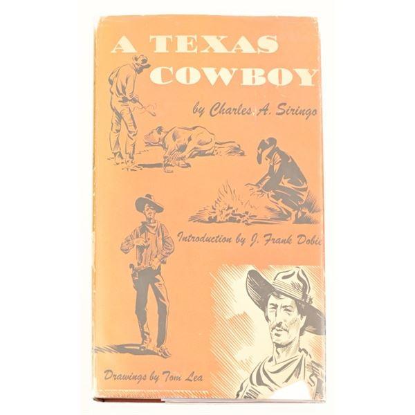 """A Texas Cowboy"" by Charles S. Siringo"