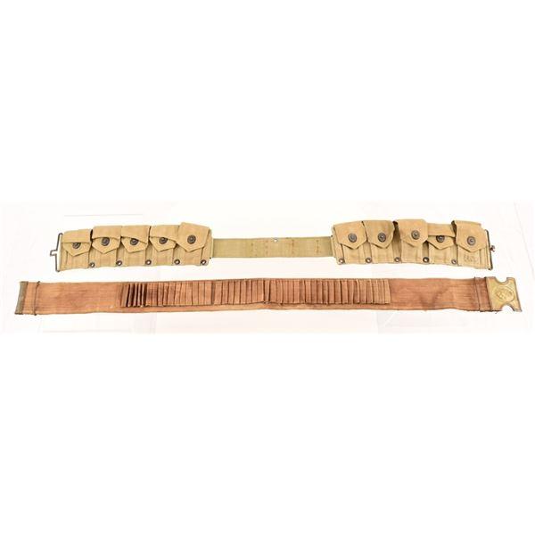 Anson Mills Dog Head Cartridge Belt
