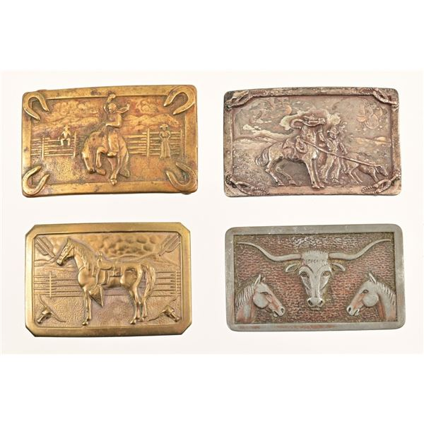 Western Belt Buckle Collection