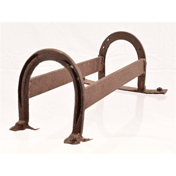 Vintage Cast Iron Horseshoe Boot Scraper