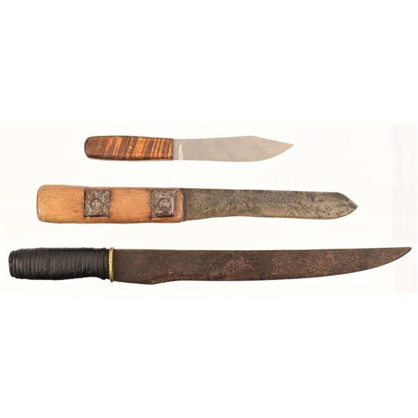 (3) Antique Knives