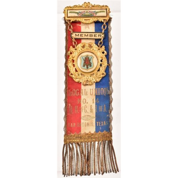 Vintage Union Medal, San Antonio Texas