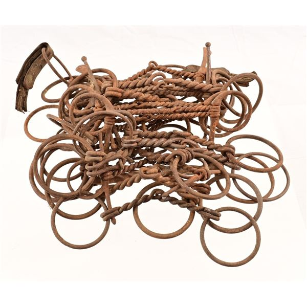 Collection of (33) Snaffle Bits