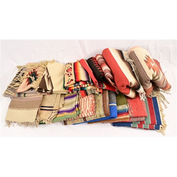 Collection of Mexican Blankets