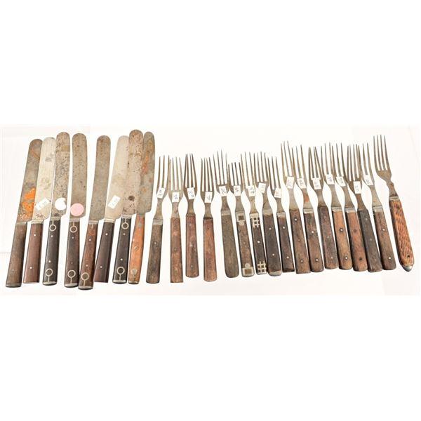 Antique Forks Flatware