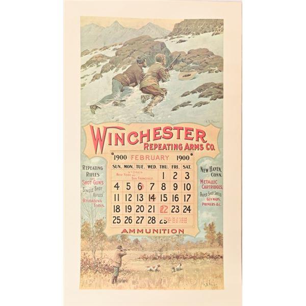 Over 150 NOS Winchester Calendar Prints