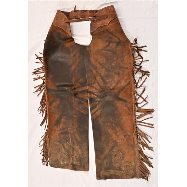 Fringed Leather Chaps