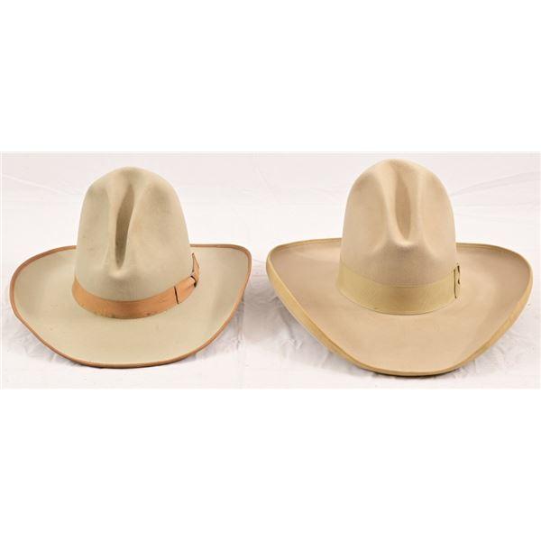 (2) Stetson Hats