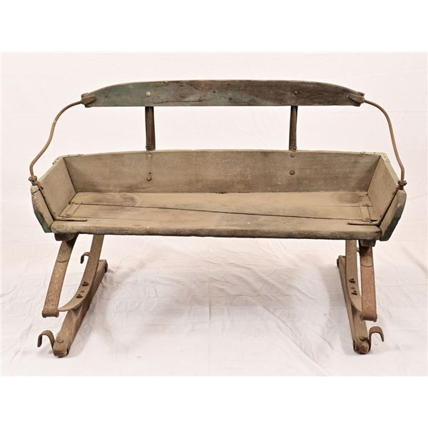 Vintage Wagon Buck Bench Seat