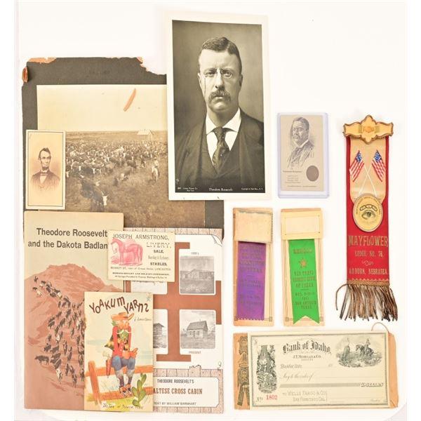Western Memorabilia Collection Teddy Roosevelt
