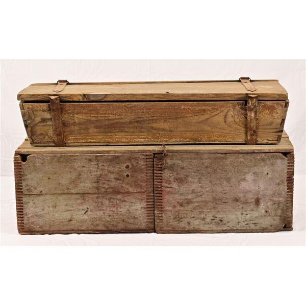(2) Wagon Boxes