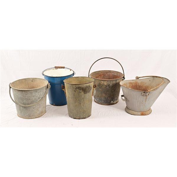 Enamelware Buckets