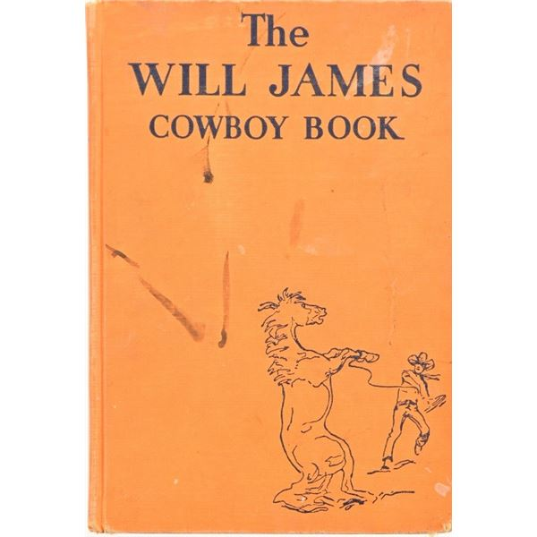 """""""The Will James Cowboy Book"""""""