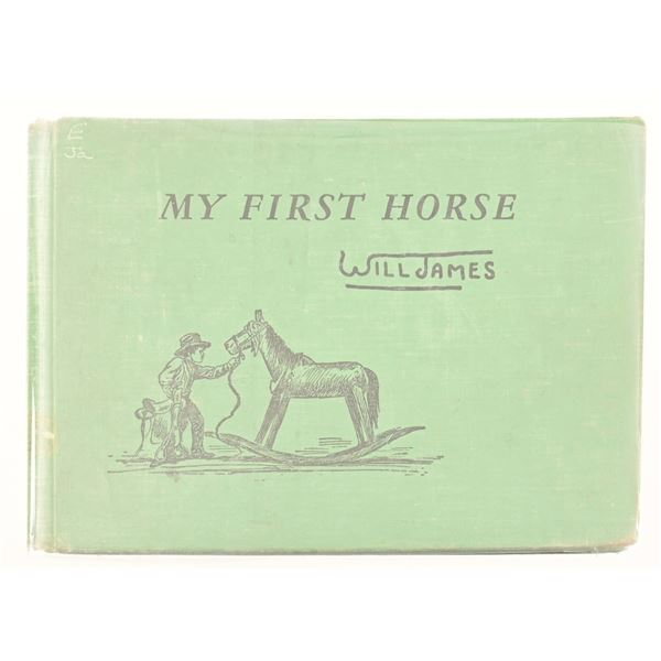 """""""My First Horse"""" by Will James"""