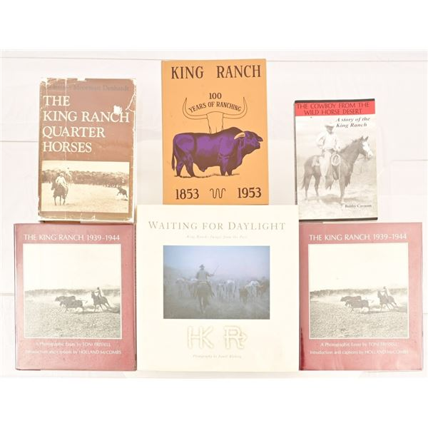 Collection of (6) King Ranch Books