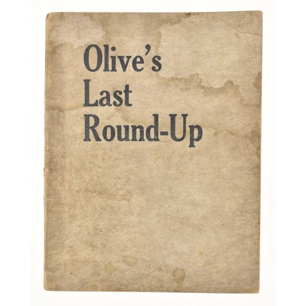 """""""Olive's Last Round-Up"""" by A.O. Jenkins"""