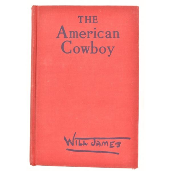 """""""The American Cowboy"""" by Will James"""