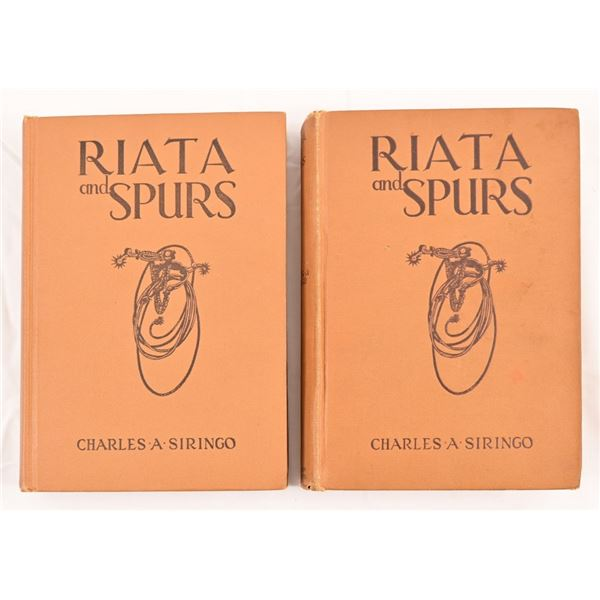 """(2) First Editions""""Riata and Spurs"""""""