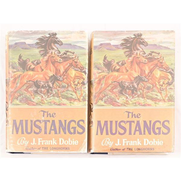 "(2) ""The Mustangs"" by J. Frank Dobie"