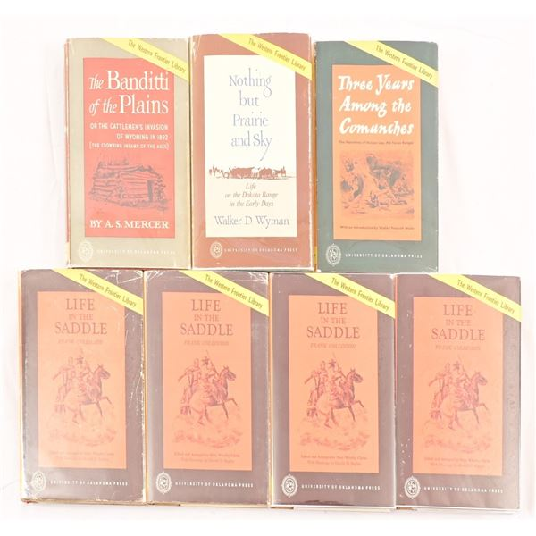 (7) Western Frontier Library Books