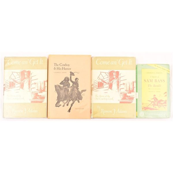 Collection of (4) Ramon F. Adams