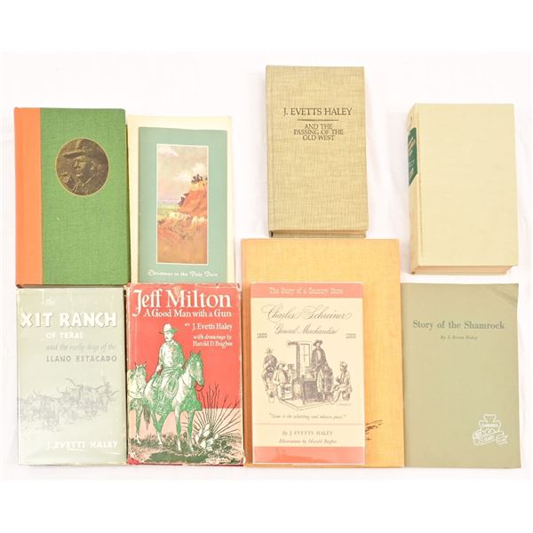 Collection of (10) J. Evetts Haley Books, Booklets