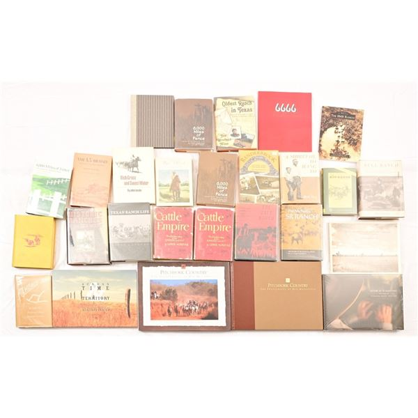 Collection of (27) Texas Ranch Books