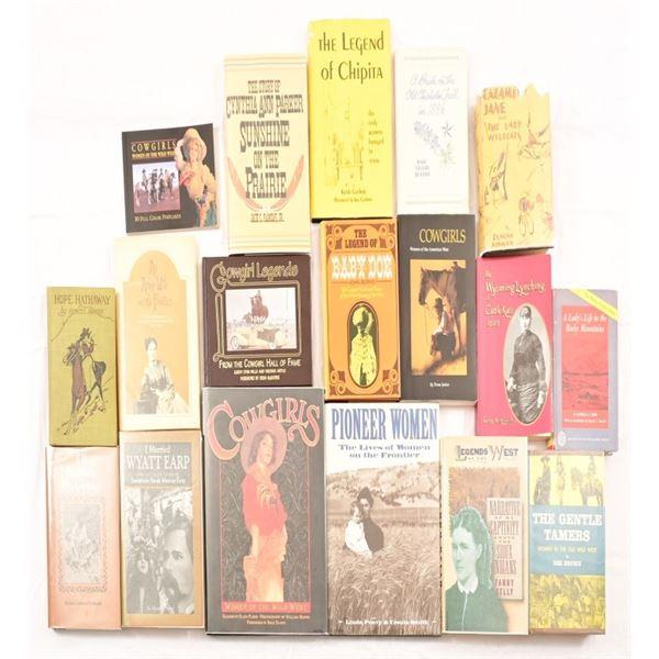 (18) Women of The Frontier & Wild West Novels.