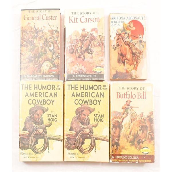 (6) Illustrated Books By Nick Eggenhofer