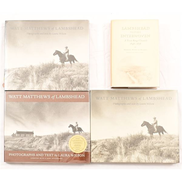 Collection of (4) Lambshead Ranch Books