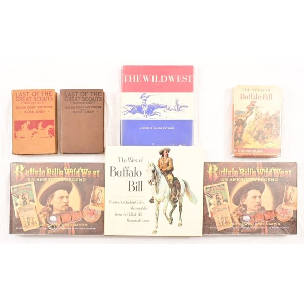 Collection of (7) Buffalo Bill Wild West Books