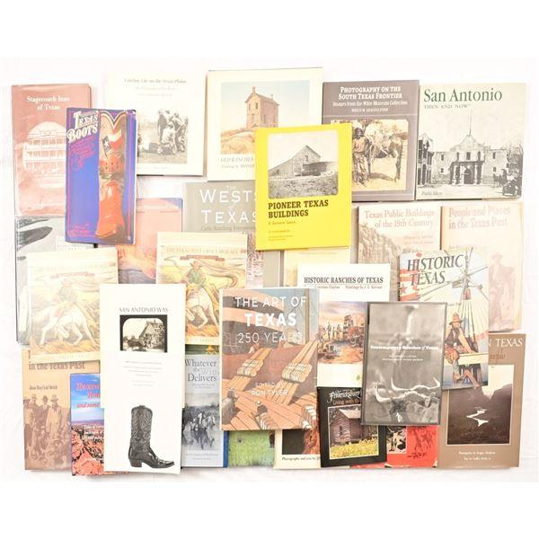 "Collection of (30) Texas Photobooks"""