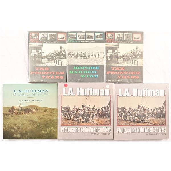 Collection of (6) L.A. Huffman Books
