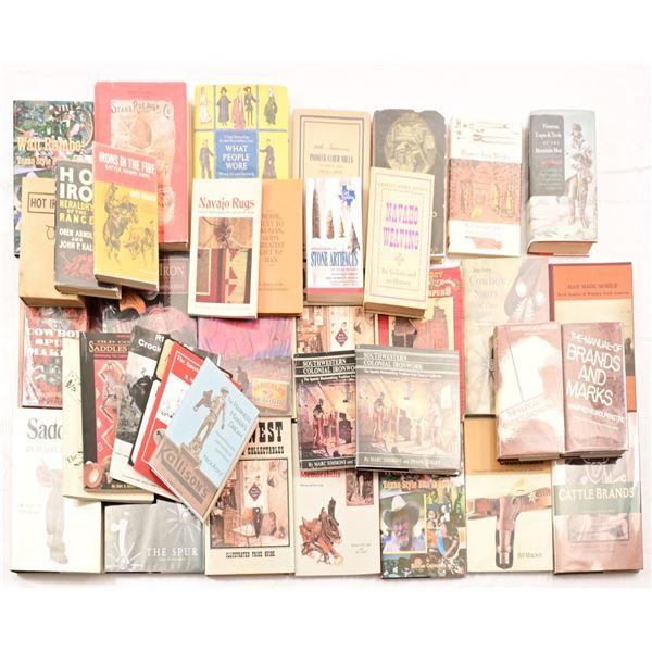 (38) Books on Cattle Brands & Western Memorbilia