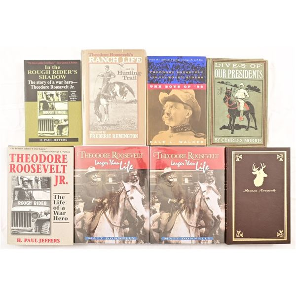 Collection of (8) Teddy Roosevelt Books