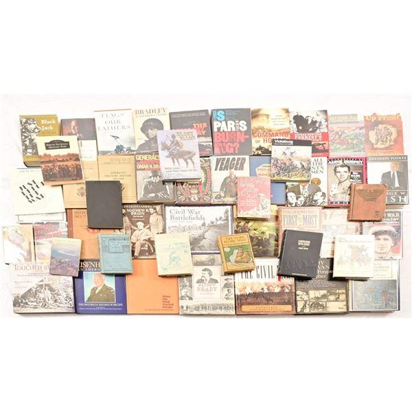 Collection of (49) Militaria Books
