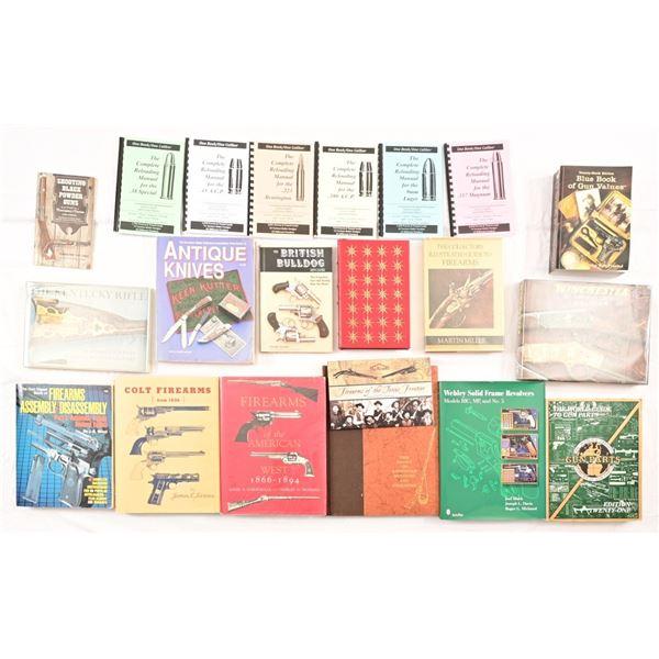 Collection of (21) Gun Collector Books