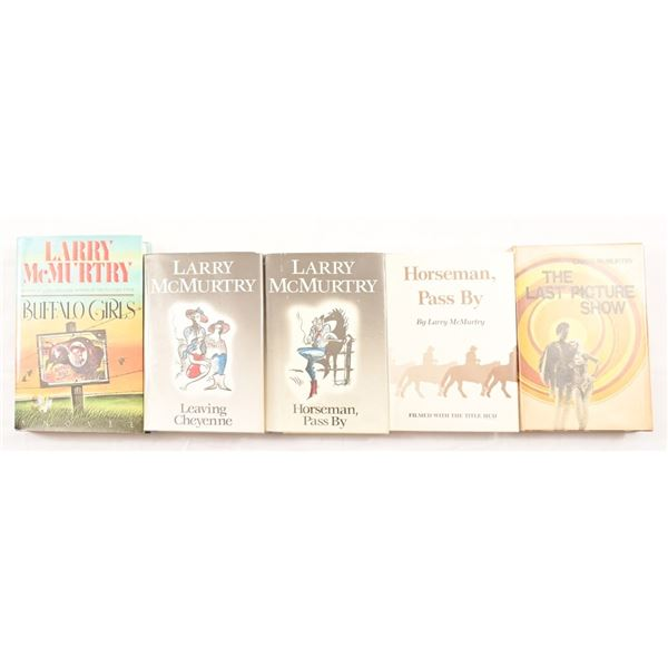 Collection of (5) Larry McMurtry