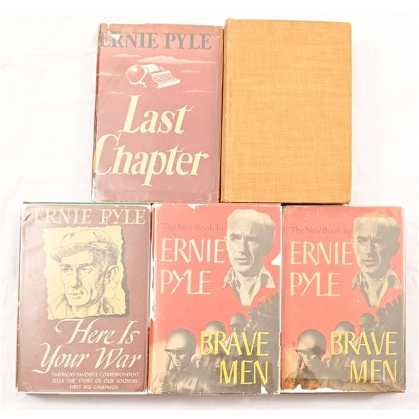 Collection of (5) Ernie Pyle Books