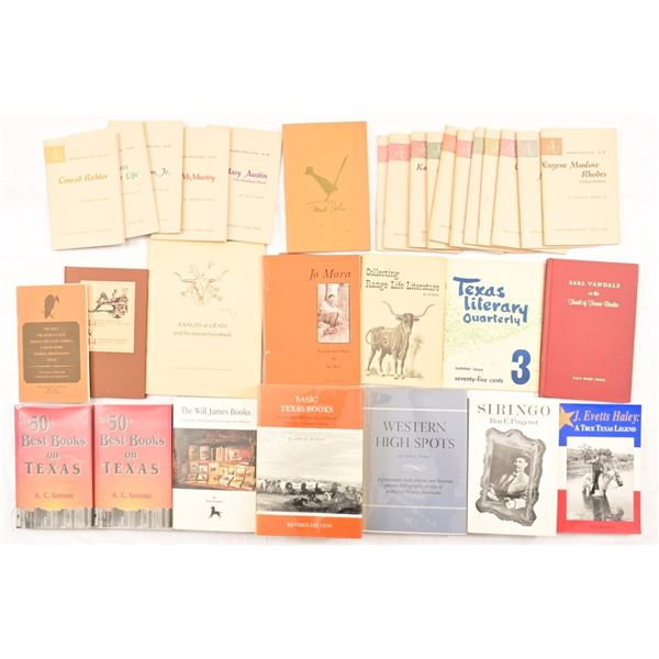 Collection of (33) Book Collector Litarature