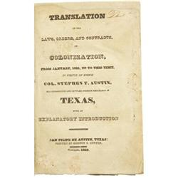 Stephen Austin: Translations of the Laws