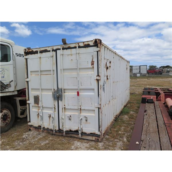 Container 20ft - Has Rust
