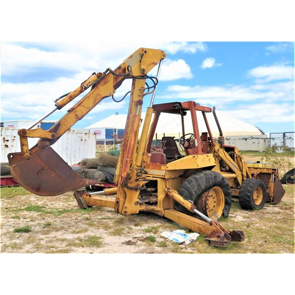 Case 780d Backhoe -Untested Sold For Parts / Repair