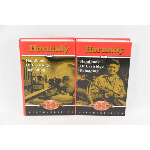 Hornady Cartridge Reloading Book Volume 1 & 2